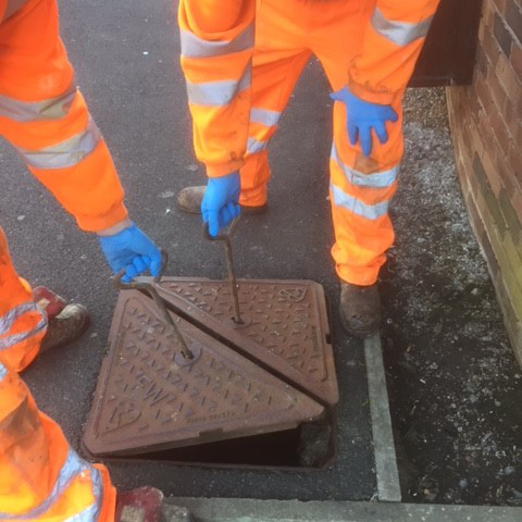 raising manhole cover