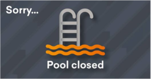 kings pool closure