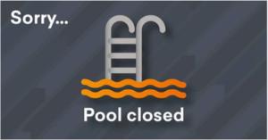 kings pool closure